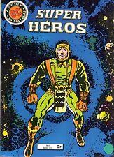 SUPER HEROS  LOT  NUMEROS  6 ET 7    AREDIT  1980  RARE SUPERBE ETAT
