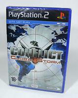 CONFLICT GLOBAL STORM für PlayStation 2 NEU Sony PS2 Spiel EU-Version