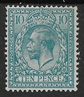 SG394. 10d.Turquoise Blue. Fresh Unused-No Gum. Cat.£40. Ref:0.139