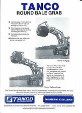 Farm Equipment Brochure - Tanco - Round Bale Grab - Handler (F5534)