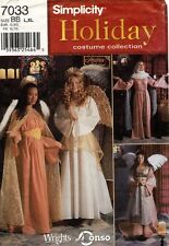 Simplicity Misses' Holiday Collection Costume Pattern 7033 Size L-Xl Uncut