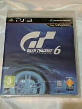 Gran Turismo 6 PS3 New Sealed UK PAL Sony PlayStation 3 Original Release Rare