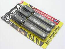 SHARPIE PRO Black Chisel Tip Permanent Marker Set For Oily Wet Wood PVC Concrete