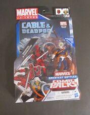 Deadpool and & Taskmaster Greatest Battles MARVEL Universe Comic Packs MOC