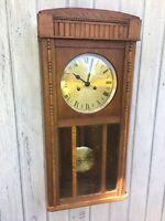 Antique Kienzle Ornate German Box Clock c. 1920