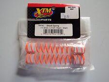 XTM Racing Parts - SHOCK SPRING  <1.3mm, L=107, Red> Mam - Model # 149740