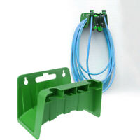 Wall Mounted Garden Hose Pipe Hanger Holder Storage Bracket Shed Fence Cable