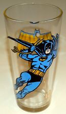 Batman Glass Pepsi Collector Series 1966 Vintage Bright Colors Clean Graphics