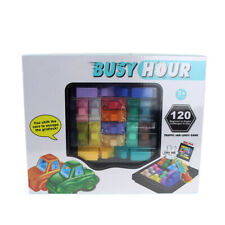 Fun Rush Hour Traffic Jam Logic Game Toy For Boys Girls Busy Hour Puzzle Game US