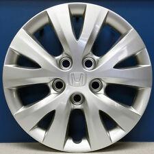 "ONE '12-15 Honda Civic LX # 55091 5 ""V"" Spoke 15"" Hubcap OEM # 44733TR0A01 NEW"