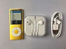 Apple iPod nano 4th Generation Yellow (8GB) new