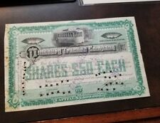 New listing Pittsburg Traction Company 1889 Pennsylvania Stock Certificate Streetcar