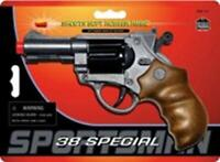 38 Special 6 Shot Rubber Ammo Pistol Toy Gun New Free Shipping Parris Mfg.