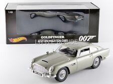 HOTWHEELS (MATTEL) 1/18 ASTON MARTIN DB5 - James Bond Goldfinger - 1958 CMC95
