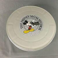 Disney World Mickey THE DISNEY MGM STUDIOS Film Movie Reel Container Taffy Tin