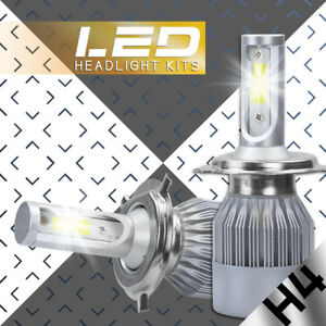 CREE LED Headlight H4 9003 HB2 488W 48800LM High Low Beams Car White Light Bulbs
