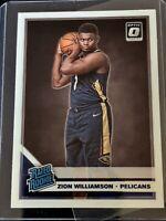 2019-20 Panini Donruss Optic Zion Williamson Rated Rookie #158 RC
