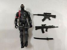 "5"" Gi Joe the Corps NINJA with 3pcs Accessorie  Rare Action Figure"