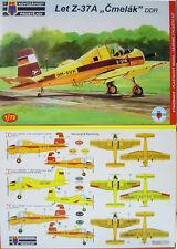 """Agrarflieger Let Z-37 A """"Cmelak"""", DDR, Interflug, KP, 1:72, Plastik , NEUHEIT"""