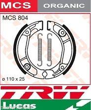 Jeu 2 Machoires de frein Avant/Arrière TRW Lucas MCS804 Honda MTX 50 S AD04 83-