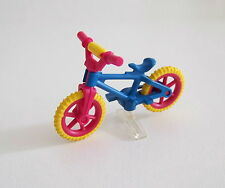 PLAYMOBIL (1530) ENFANTS - Vélo Rose & Bleu avec Support Transparent