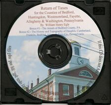 Bedford County PA History - + Bonus books