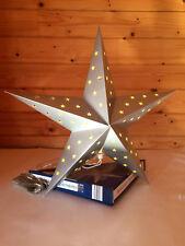 LED Weihnachtsstern 60 cm Papierstern Leuchtstern Sternenlicht Faltstern