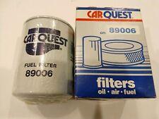 Carquest Fuel Filter 89006, also FF5011, PG25, LFF2, LFF5510, P550115, New