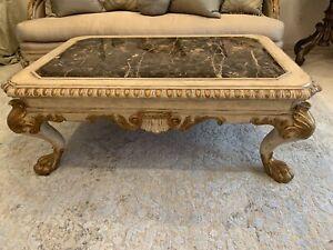Marge Carson Huntington manor rectangular cocktail table