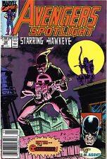 Marvel Comics: Avengers Spotlight Erstauflage USA Nr. 32 Top Zustand