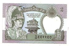 Nepal  2 rupees  1981  sign 14   FDS UNC   Pick 29 b   Lotto 3823