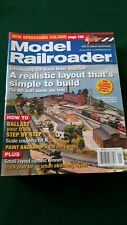2007 MODEL RAILROADER MAGAZINE (12) ISSUES COMPLETE YEAR