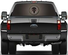 Panisher Skull  Rear Window Graphic Decal Truck SUV Van Car