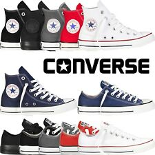 Mens Womens Converse Chuck Taylor All Star Hi Top Trainers Canvas Lace Up Shoes