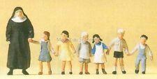 H0 Preiser 10401 Nonne, Kinder. Figur. OVP