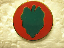 MILITARY HAT PIN - U.S. ARMY - 24th INFANTRY DIVISION