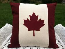 CANADIAN MAPLE LEAF CUSHION/THROW PILLOW
