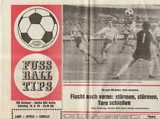 BL 78/79  VfB Stuttgart - Hertha BSC Berlin