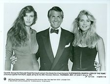 CAROL ALT KIM ALEXIS GEORGE HAMILTON SUPER MODEL ORIGINAL 1988 ABC TV PHOTO
