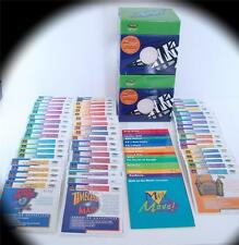 LOT OF 55 TITLES LIGHTSPAN EDUCATIONAL HOME SCHOOL LEARNING GAMES PLAYSTATION