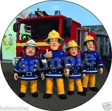Eßbarer Tortenaufleger Feuerwehrmann Sam Tortenbild Geburtstag Party Deko neu