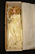 Beautiful Porcelain Wedding Doll by The Heirloom Treasure