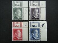 Germany Nazi 1942 1944 Stamps MNH Adolf Hitler WWII Third Reich Deutschland Germ