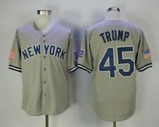 New York Baseball Jersey All Stitched Mens Baseball Shirt Button