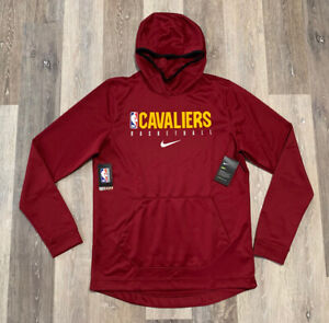 Nike Cleveland Cavaliers Showtime Hoodie Maroon Men's Size 2XL Player Issued