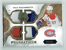 15-16 UD The Cup Foundations  Max Pacioretty  10/10  Last Card  Quad Patches