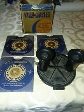 Sawyers Vintage Viewmaster Stereoscope Model A Clamshell Viewer 1942