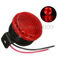 12V 125db Car Motorcycle Truck Brake Stop Reverse Turn Alarm Horn Red LED