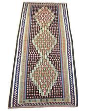 kurde Coureurs De kilim 300 x 130 cm Nomades Tapis kélim carpette tribale 1497