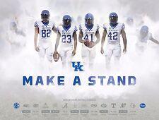 2016 KY University of Kentucky Wildcats Football Schedule/Poster Go Big Blue